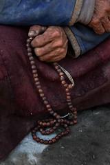 Ladakh - buddhist ladakh hands evans steve leh buddism prayerbeads steveevans