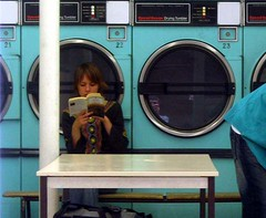 student laundry mat