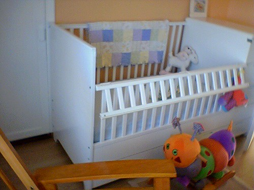 Super crib-o-matic. It's a crib, it's a dresser, it's a super dooper toddler bed!