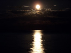Moonlight... (Diego3336) Tags: moon water reflection toronto ontario canada moonlight