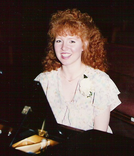 Me - Wedding Pianist in the 80's