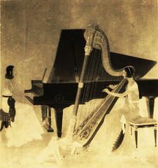 Harp and Piano - ハープとピアノ
