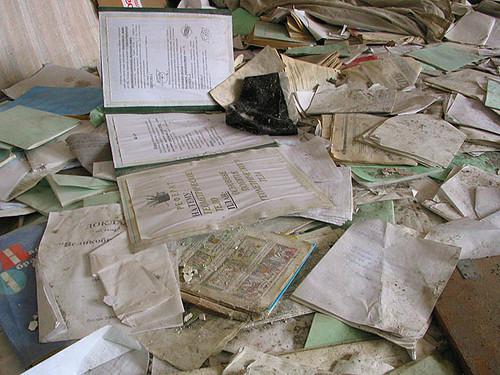 Beslan school - floors