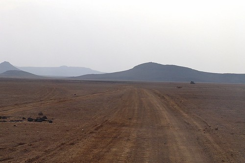across the desert to Obock