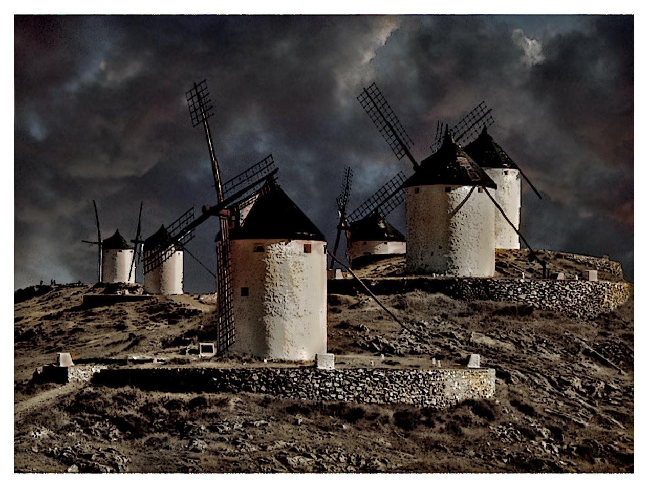 Photo de Castille La Manche n°1. Les Moulins de Consuegra