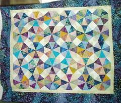 Kaleidoscope quilt top (alcona) Tags: quilt