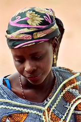 Zejnab (janchan) Tags: africa portrait people woman film girl women retrato nigeria donne mujeres ritratto kano reportage fulani theface hausa carrymehome whitetaraproductions obstetricfistula tribalmarks