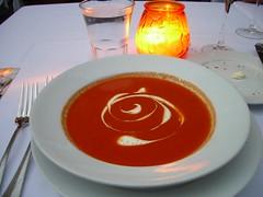 Tomato soup with Indian spices