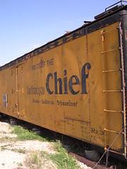 Santa Fe Texas (Cody Pomeroy) Tags: texas santfe railroad freightcar train freight traincar chief route66