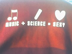 Music   Science = Sexy