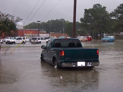 Washington Square Mall (General Wesc) Tags: truck flood chevy s10 washingtonnc chevys10 uploadedbyluca