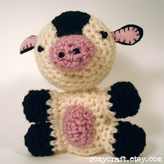 cow (Roxycraft) Tags: amigurumi softies plush mos crochet handmade