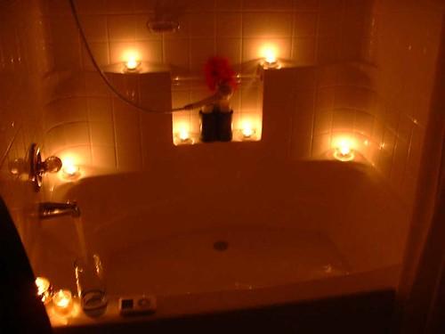 حمامات رومانسية....