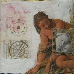 You will find me.. (Maudstarr) Tags: 4x4 art squared collage mixed media renaissance