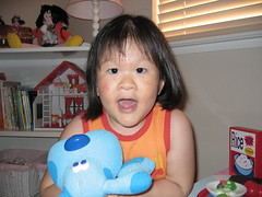 Kiara with Blue (kikiboochi) Tags: bluesclue