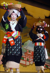 Ohara Maidens  (mboogiedown) Tags: travel beauty japan asian japanese dance women kyoto asia traditional culture geiko geisha    gion tradition kansai  cultural odori    yokoso  mapjapan     kyomai      yokosojapan discoverkyoto
