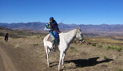 Horseman in Lesotho