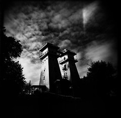Holga: Twin Towers, Irish Hills, MI - by Matt Callow