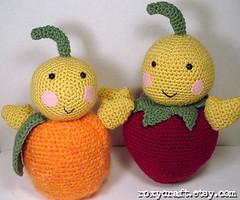 amigurumi babies (Roxycraft) Tags: amigurumi softies plush mos crochet handmade