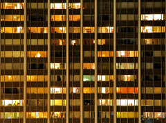 Tower Plaza Windows (gsgeorge) Tags: city longexposure windows building cake vertical night facade skyscraper apartment michigan annarbor symmetry mostfavorited layers mostfavorites geoffgeorge gsgeorge geoffreygeorge gsgfilms gsgfilmscom