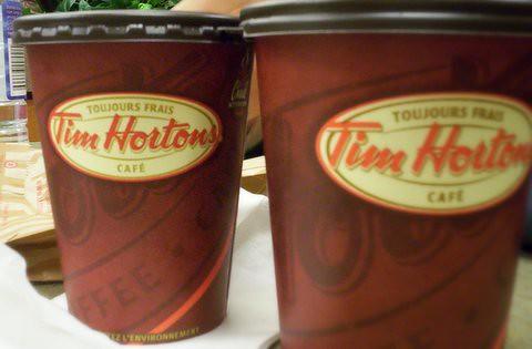 Tim Hortons Coffee by Richard Hsu.