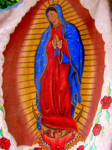 Guadalupe on canvas