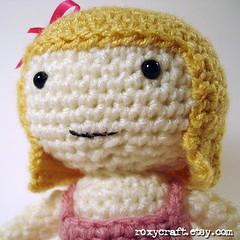 blonde ramona 2 (Roxycraft) Tags: amigurumi softies plush mos crochet handmade