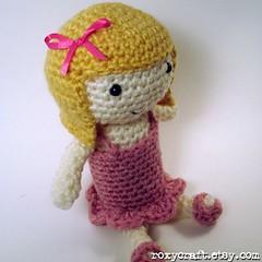 blonde ramona 1 (Roxycraft) Tags: amigurumi softies plush mos crochet handmade