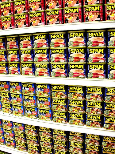 wall of spam by chotda.