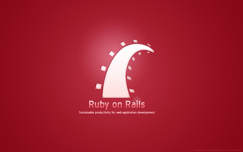Ruby on Rails Wallpaper