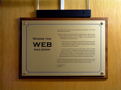 WHERE THE WEB WAS BORN