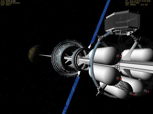 Mars Space Elevator  - Areosync Base