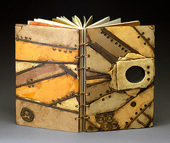 Bontecou (sweetmadness) Tags: books polymerclay bookbinding polymer handmadebooks