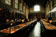 Christ Church college dining hall, Oxford