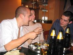 Rob, Philippa, Neil (mikegoldabc) Tags: birthday 2005 ravi shankars