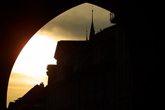 (joto25) Tags: light sun sunlight silhouette ilovenature evening spire joto25 sr116 mc05negativespace jotography jtloh