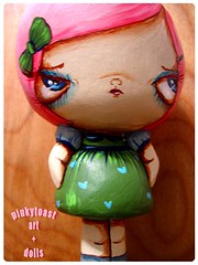 pinkytoast doll 3d (pinkytoast) Tags: girl mos toy doll handmade bigeyed pinkytoast