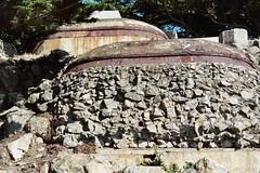 rock wall (chicalookate) Tags: sanfrancisco rock wal cliffhouse