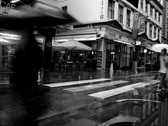 showers clearing along flinders lane (ziz) Tags: rain australia melbourne victoria degravesstreet flinderslane centreplace thequarter