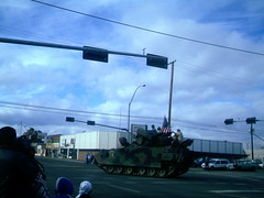 Different tank turning the corner. (Yakima_gulag) Tags: tank patriotic images