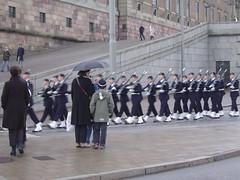 Stockholm: koninklijke wacht (elinecelis) Tags: erasmus stockholm henrik