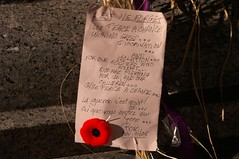 Remembrance Day Poem (J.S. Hollands) Tags: ottawa november remembranceday poppy poem tomboftheunknownsoldier