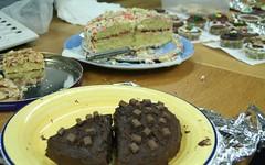 Cake Everywhere..... (Sunshine Hanan) Tags: charity chocolate baking day raise money children need cake cookies sugar sweet ibm hursley november 2005 uk england a1 companion team