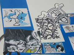 Various Artists (Dr Case) Tags: barcelona streetart geotagged sticker bebop thelondonpolice tlp bande gurka streetartistthelondonpolice nychos visualrockin6tem geolat41385004 geolon2166163 streetartistnychos streetartistbande streetartistbebop streetartistgurka