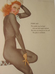 calendar girl (skunks) Tags: calendarart pinupgirls