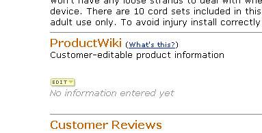 amazon product wiki