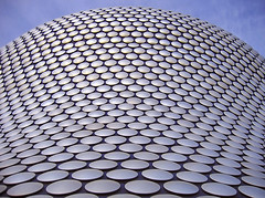 Selfridges Abstract (lev) Tags: abstract building shop architecture silver shopping interestingness birmingham pattern circles curves engineering bluesky selfridges round form midlands perpsective
