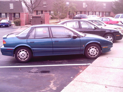 1993 Saturn SL2 #1; ← Oldest photo