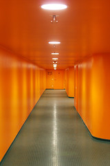 Block 101-103 (...like a chimp with coconuts) Tags: orange munich mnchen football fussball stadium soccer corridor wm worldcup stadion msh bundesliga allianzarena bayernmnchen fussballwm fussballweltmeisterschaft pressarea img4845 msh0306 msh03063
