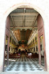St Catherine's Church (Farl) Tags: door travel church colors architecture worship catholic gutentag faith philippines religion cebu portal tradition mass stcatherine portals carcar cebusugbo